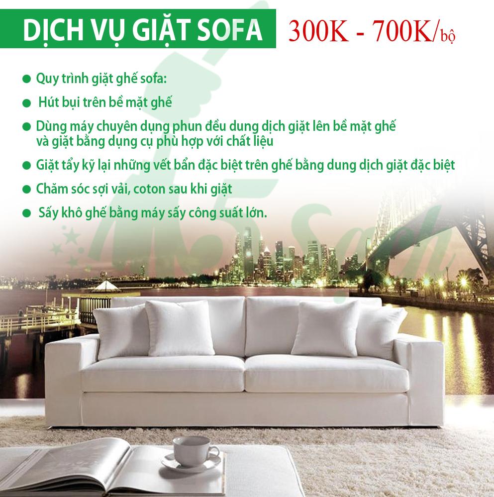 giặt ghế sofa giá rẻ tại nhà