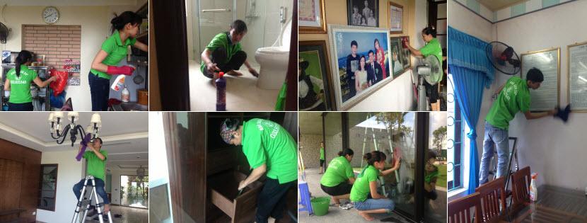 dịch vụ vệ sinh nhà ở sau xây dựng giá rẻ tại Hà Nội