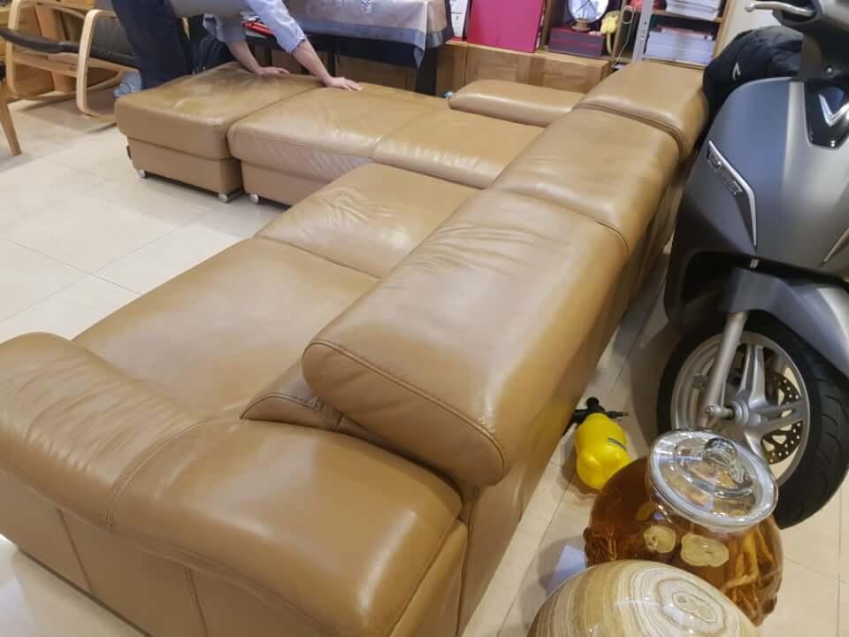 dịch vụ làm mới ghế sofa da