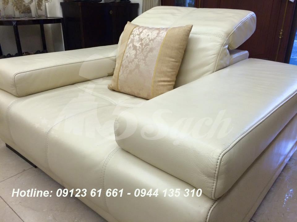 Cách giặt ghế sofa vải nỉ