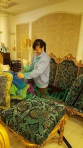 giặt thảm văn phòng tại Hà Nội