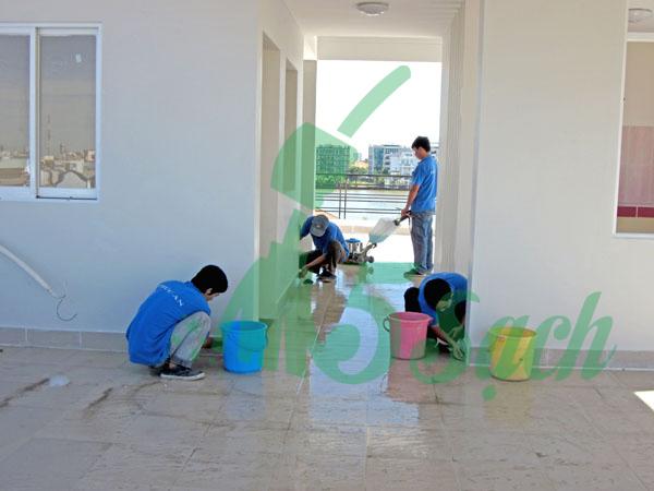 dịch vụ vệ sinh nhà mới