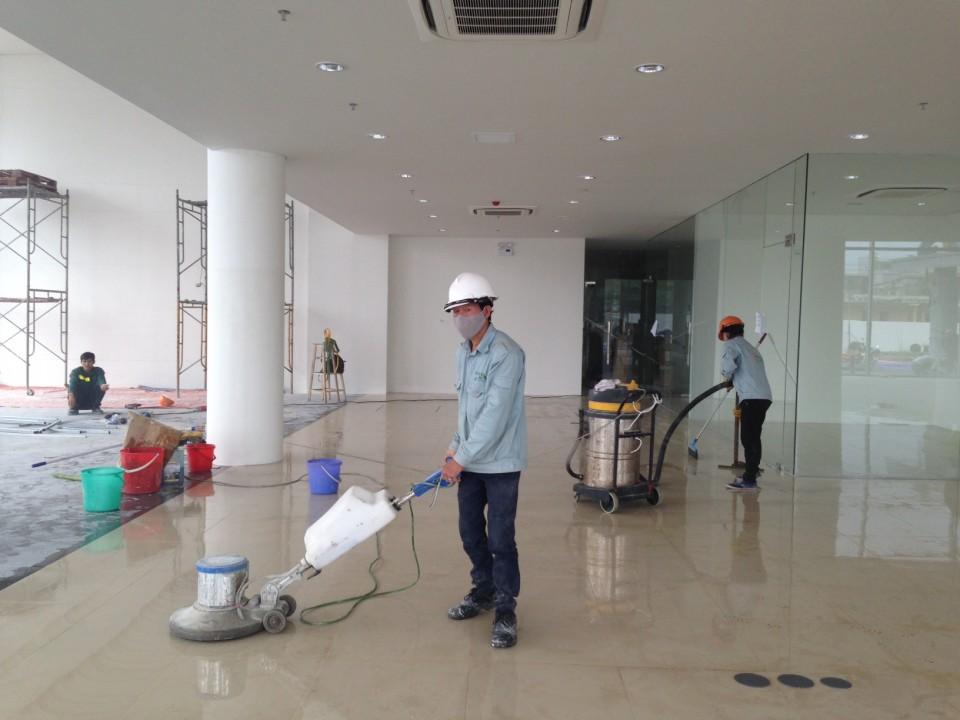 dịch vụ đánh bóng sàn gạch tại hà nội