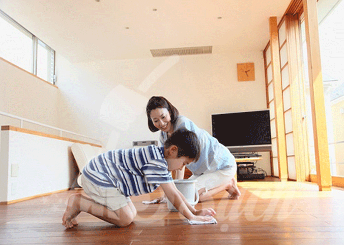 Cách vệ sinh sàn gỗ tự nhiên