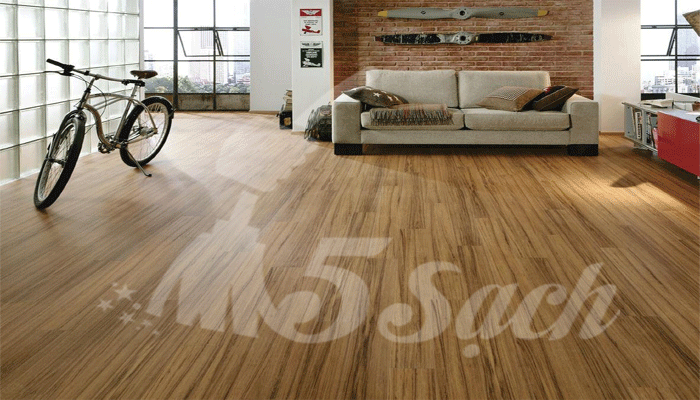 Cách lau sàn gỗ vệ sinh sàn đơn giản