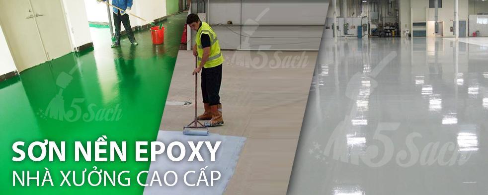 Thi công sơn Epoxy chuyên nghiệp tại Hà Nội