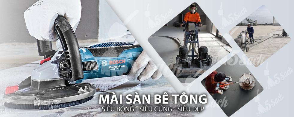 Mài sàn bê tông tại Hà Nội