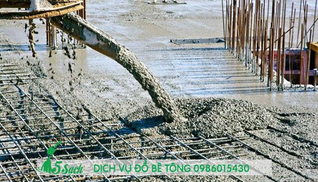 Tiết kiệm thời gian với dịch vụ đổ bê tông của 5sach.vn