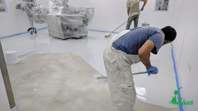 5Sach.vn thi công sơn epoxy giá rẻ