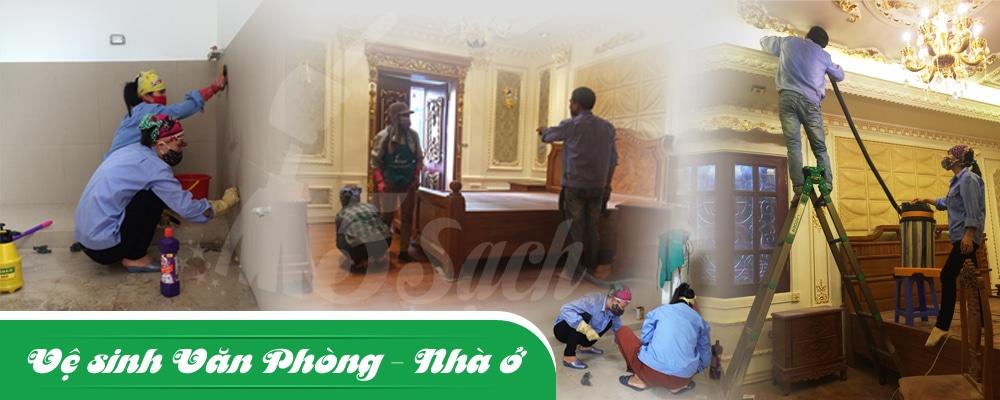 Dịch vụ vệ sinh do 5 Sạch thi công đảm bảo chất lượng, giá rẻ