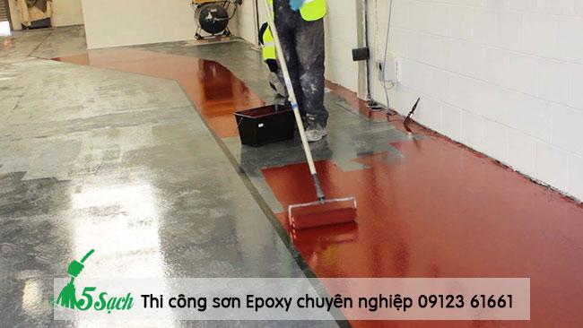Quy trình thi công sơn Epoxy cần đảm bảo chất lượng, an toàn