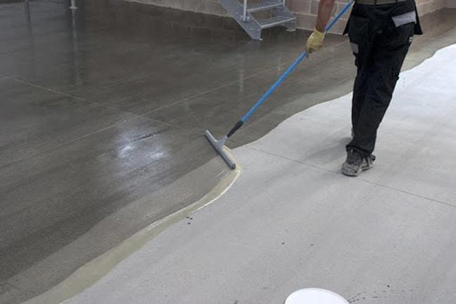 Quy trình thi công sơn epoxy chống trơn trượt