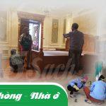 Dịch vụ vệ sinh mang lại cho người sử dụng một không gian sống sạch sẽ, an toàn