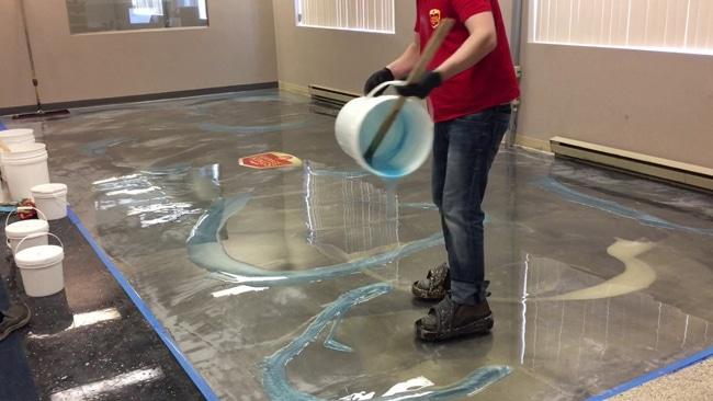 Ứng dụng của sơn epoxy gốc nước