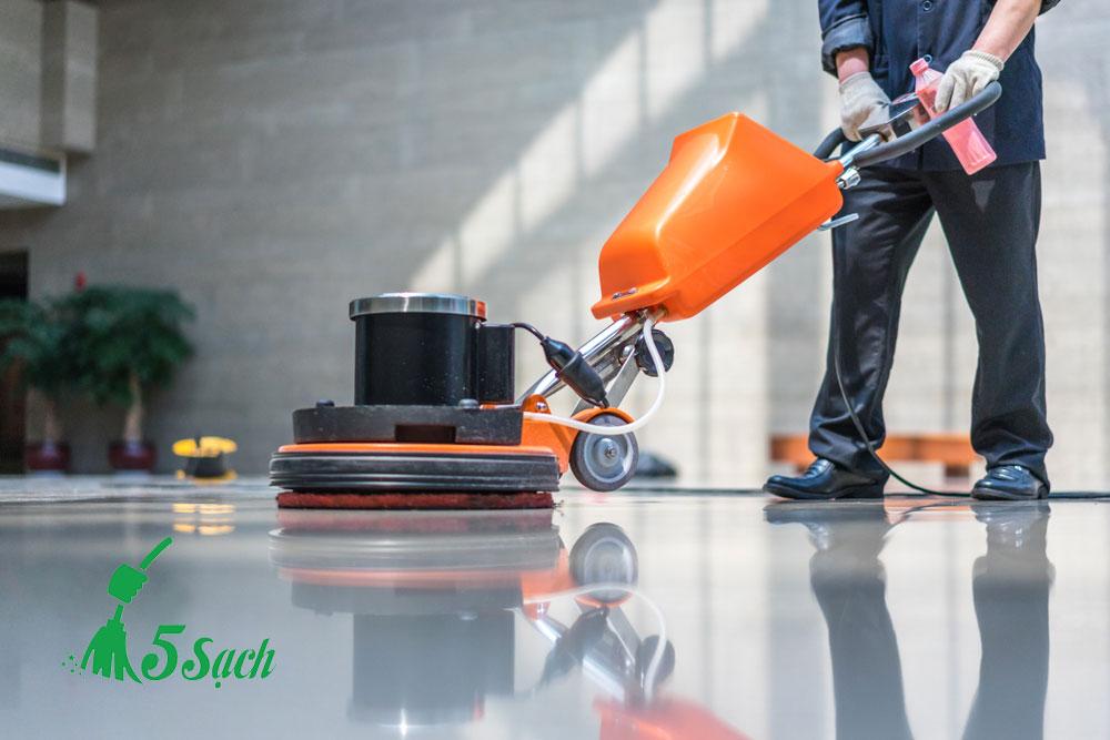 Giới thiệu dịch vụ đánh bóng sàn 5 sạch