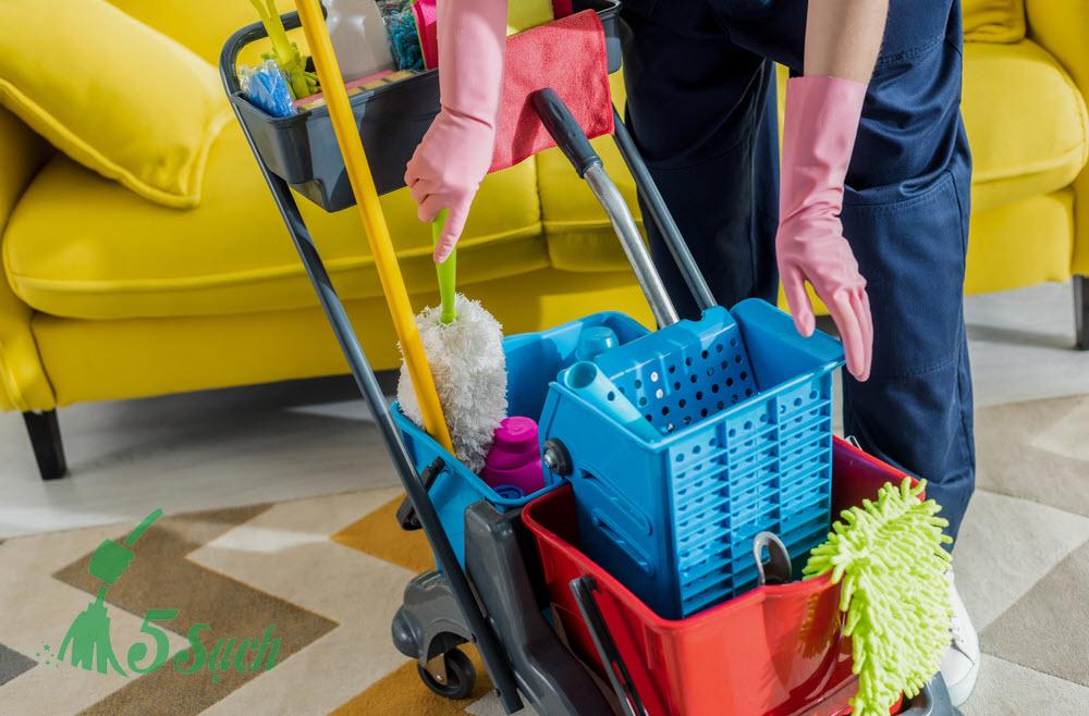 Dịch vụ vệ sinh nhà cửa - 5 Sạch