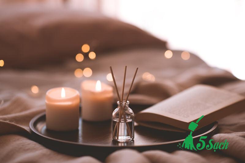 Tự làm lọ hương thơm cho phòng ngủ