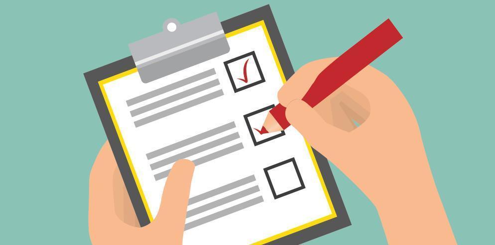Form mẫu checklist công việc
