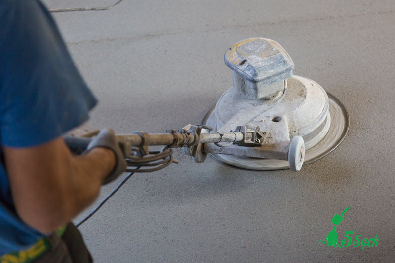 Xử lý bề mặt sàn