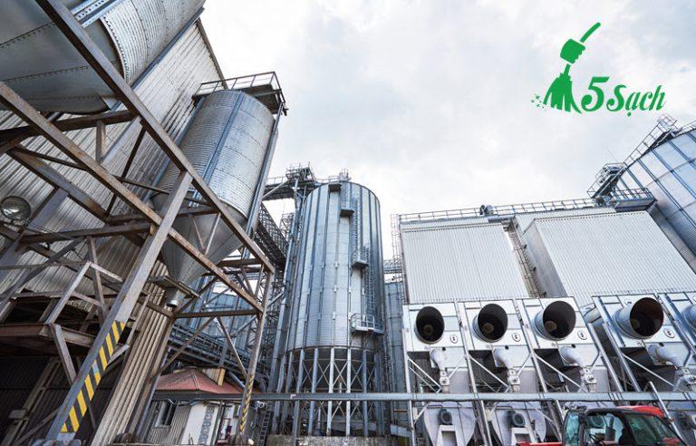 Dịch vụ vệ sinh nhà máy của 5 Sạch
