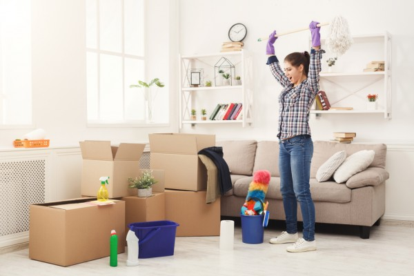 Khử mùi xi măng cho nhà mới xây - Hãy để 5 Sạch lo!